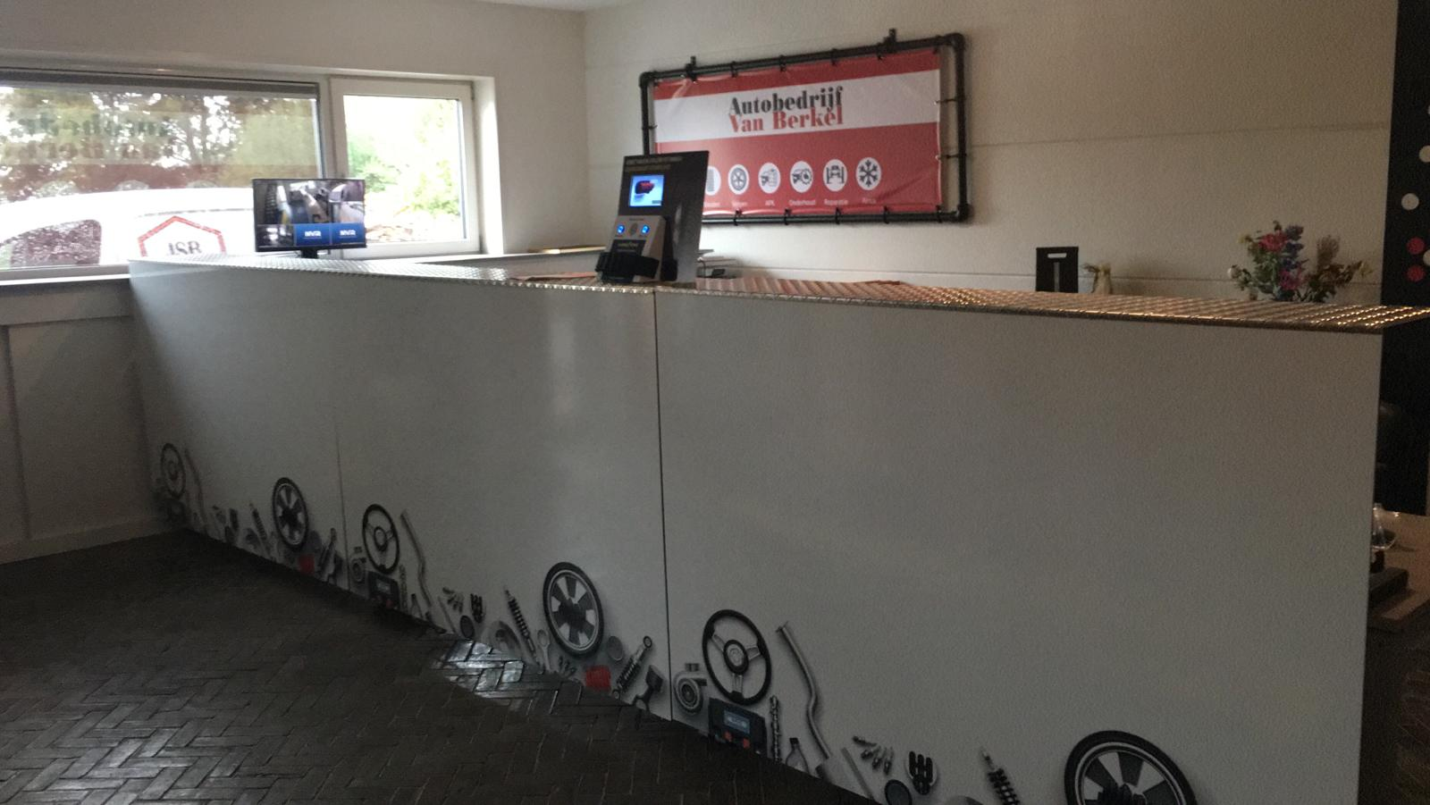 Receptie Autobedrijf van Berkel Steenwijk