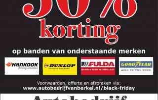 black friday deals bij uw banden specialist van berkel